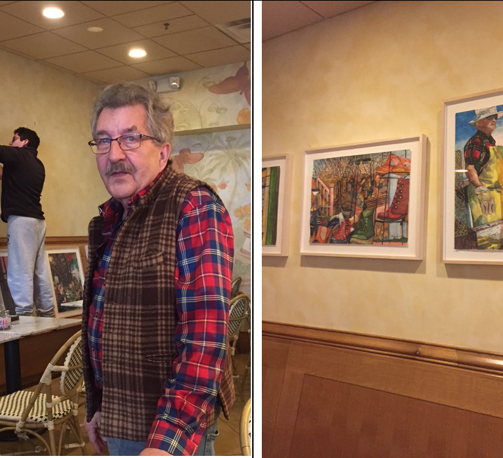 "NEW ART EXHIBIT – ""Watercolors by Dennis Gray"""