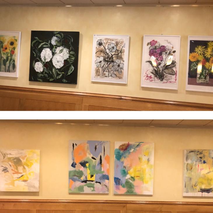 ART EXHIBIT:  Lois Schuster & Claudia Cameron
